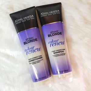 Sheer Blonde Colour Renew Shampoo & Conditioner